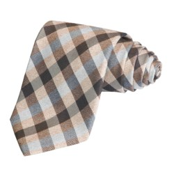 Altea Silk Plaid & Blocks Tie (For Men)