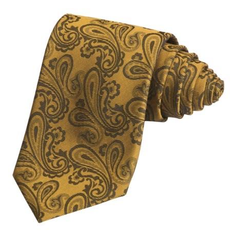 Altea Paisley Tie - Silk-Wool (For Men)