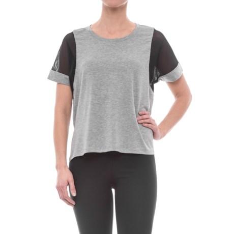 Reebok Move Boxy Shirt - Short Sleeve (For Women)