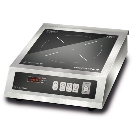 CASO Pro Chef 1800 Commercial Induction Cooktop Burner