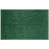 """Entryways Flowers Weather Beater Doormat - 22x35"""""""
