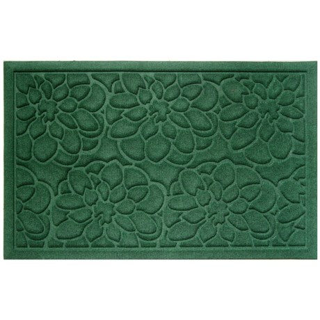 Entryways Flowers Weather Beater Doormat - 22x35""