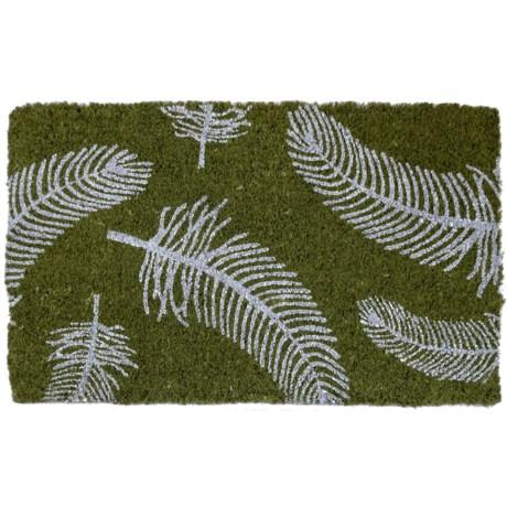 "Entryways Feathers Coir Doormat - 18x30"""
