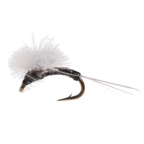 Black's Flies Etha Wing Spinner Trico Dry Fly - Dozen