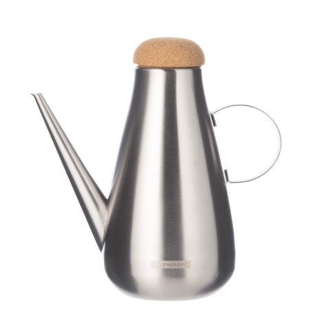 Typhoon Seasonings Oil Can - 17 oz., Stainless Steel