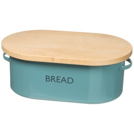 Typhoon Vintage Kitchen Bread Box - Cutting Board Top