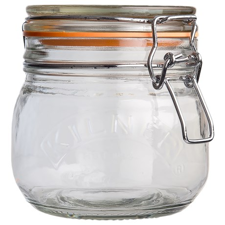 Kilner Clip Jars - Set of 3, 17 oz. Each