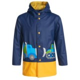 Wippette Construction Hooded Raincoat (For Little Boys)