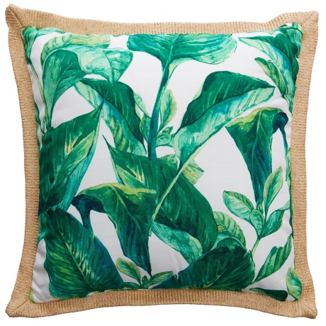 Levinsohn Tropical Leaf Outdoor Decor Pillow - 18x18""
