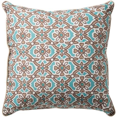 "Levinsohn Patterned Outdoor Decor Pillow - 18x18"""