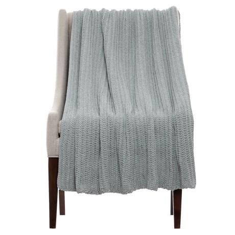 THRO Ace Griffin Knit Blanket - 50x60""