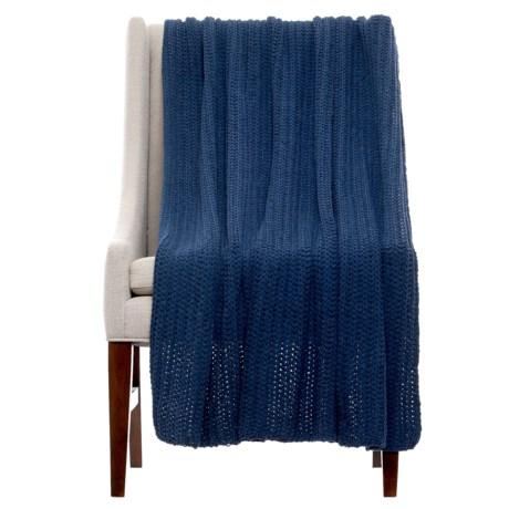 "THRO Ace Insignia Knit Blanket - 50x60"""