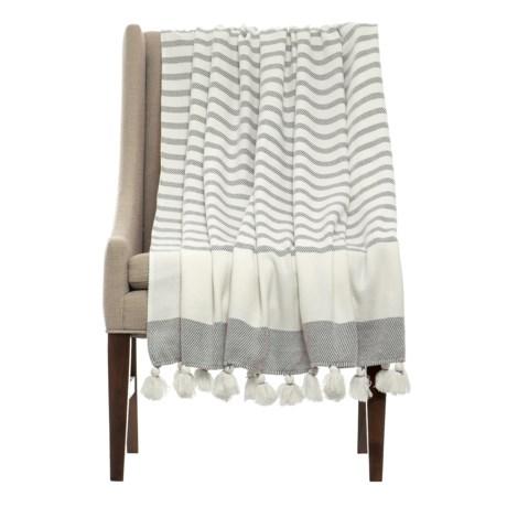 THRO Jenessa Griffin Striped Blanket