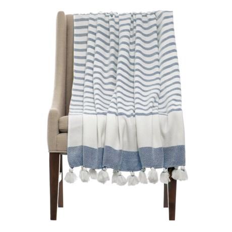 THRO Jenessa Stellar Striped Blanket