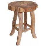 J Hunt Teak Wooden Stool
