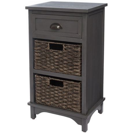 J Hunt Acacia Storage Table