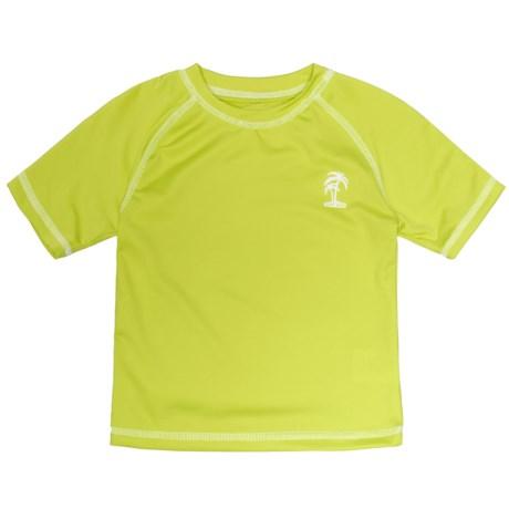 iXtreme Palm Tree Logo Rash Guard - Short Sleeve (For Toddler Boys)