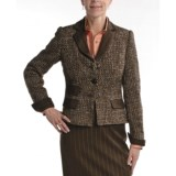 Audrey Talbott Basket Weave Melange Jacket (For Women)