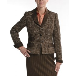 Audrey Talbott Basket Weave Melange Jacket (For Women)