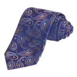 Altea Large Floating Paisley Tie - Silk (For Men)