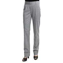 Audrey Talbott Chris Pleated Pants - High-Twist Wool, Stretch (For Women)