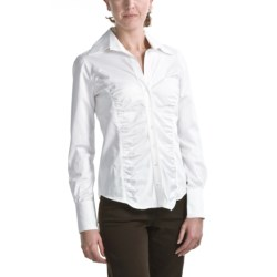 Audrey Talbott Harper Shirt - Ruched Front, Long Sleeve (For Women)