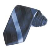 Altea Paisley and Stripe Tie - Silk (For Men)