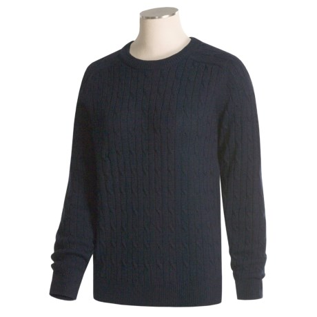 Woods & Gray Super Wash Cable-Knit Sweater (For Women)