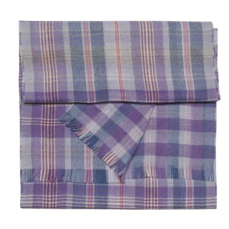 Johnstons of Elgin Reversible Scarf - Merino Wool (For Women)