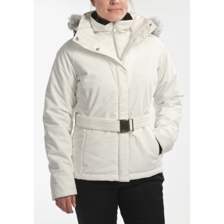 Sunice Abby Jacket - Insulated, Faux-Fur Trim, Mid Length (For Women)