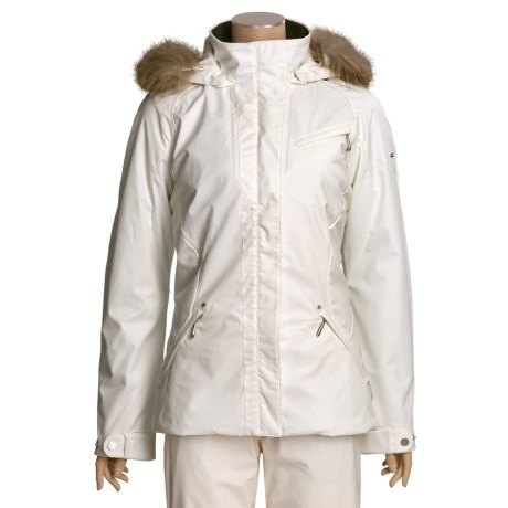 Sunice Lilly Short Jacket - Insulated, Fur Trim (For Women)