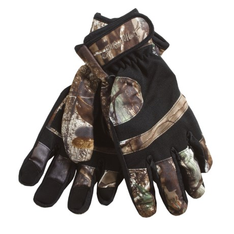 Jacob Ash Hot Shot Rattler Brushed Tricot Hunting Gloves - Insulated (For Men)