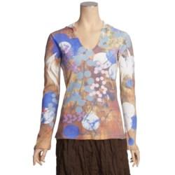 Ojai Waffle Hooded Shirt - Long Sleeve (For Women)
