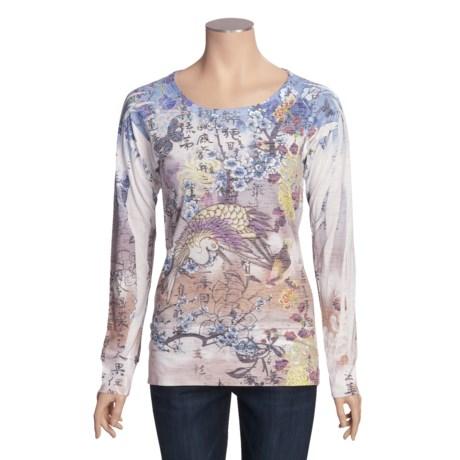 Ojai Burnout Shirt - Long Sleeve (For Women)