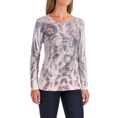 Ojai Burnout Shirt - Long Sleeve (For Women)