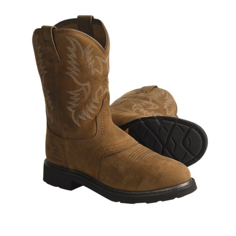 Ariat Sierra Saddle Work Boots - Waterproof (For Men)