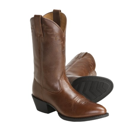 "Ariat Sedona Cowboy Boots - 12"", Leather, Round Toe (For Men)"