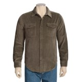True Grit Frosted Cut Cord Shirt - Button Front, Long Sleeve (For Men)