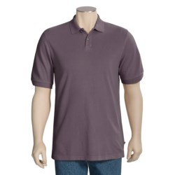 True Grit Jersey Pique Polo Shirt - Two Button, Short Sleeve (For Men)