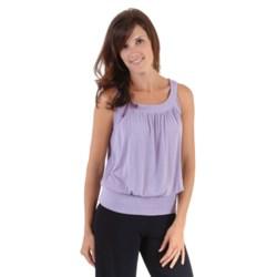 Dreamsacks Gathered Neck Circle Shirt - Sleeveless (For Women)