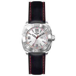 GV2 by Gevril Mecha Line 8700 Watch - Leather Strap