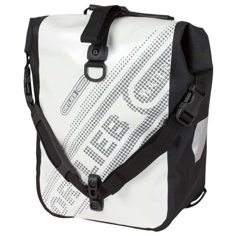 Ortlieb Sport Roller Black N' White Pannier Set - Waterproof, Set of 2