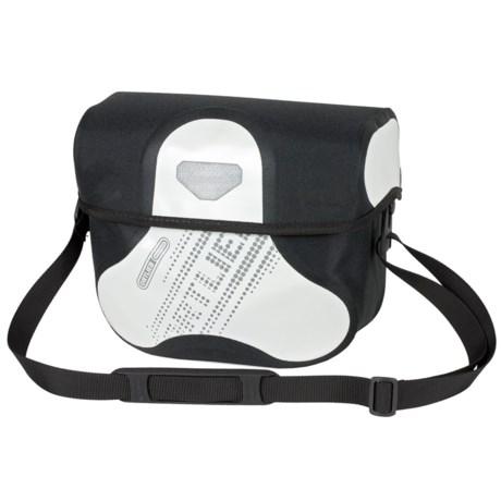 Ortlieb Ultimate6 Black N' White Handlebar Bag - Waterproof