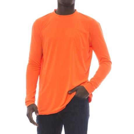 Stanley Performance Hi Vis Pocket T-Shirt - Long Sleeve (For Men)