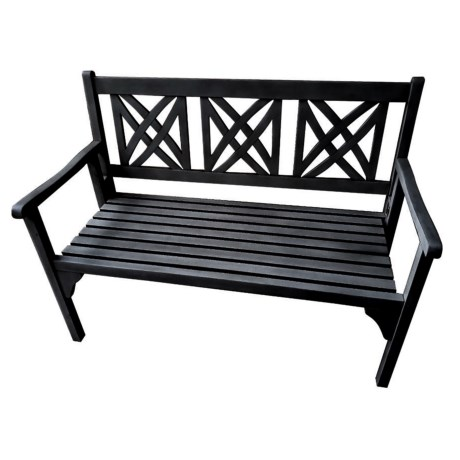 J Hunt Foldable Acacia Bench - Square Back, 48x22x36""