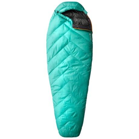 Mountain Hardwear 32°F Heratio Down Sleeping Bag - 650 Fill Power, Long, Mummy (For Women)
