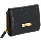 Buxton Rose Garden Accordion-Zip French Purse - Leather (For Women)