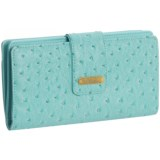 Buxton Ostrich Bright Super Wallet (For Women)