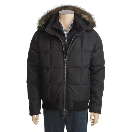 Hawke & Co. Quest Down Parka - Fur-Trimmed Hood (For Men)
