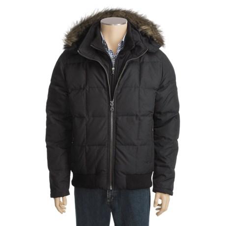 Hawke & Co . Quest Down Parka - Fur-Trimmed Hood (For Men)